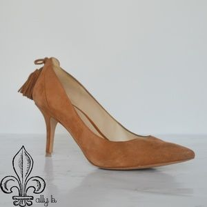 ⚜️ Marc Fisher suede heels ⚜️